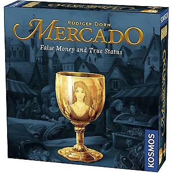 Thames & Kosmos Mercado Welcome to The Market Board Game 2-4 Players  Ages 10+