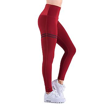 Womens Fitness Yoga Gym Sport High Waist Shapewear Exercise Activewear Leggings