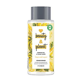 Coconut oil and ylang ylang flower conditioner 400 ml
