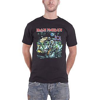 Iron Maiden T Shirt Knebworth Moonbuggy Band Logo Official Mens Black T Shirt