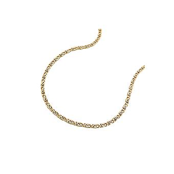 Necklace S-curb Chain 36cm 14k Gold