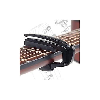 Гитары Капо зажим для электрического акустической Туба быстрый триггер выхода