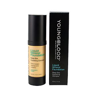 Youngblood Liquid Mineral Foundation - Shell 30ml / 1oz