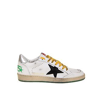 Golden Goose Gmf00117f00063410349 Men's White Leather Sneakers