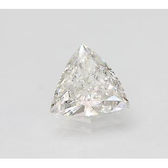 Sertifioitu 1.16 Karat E SI1 Trilliant Enhanced Natural Loose Diamond 8.3x7.87mm