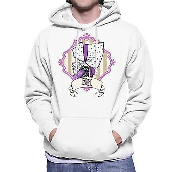 Holly Hobbie Bonnet Side Profile Men's Hooded Sweatshirt