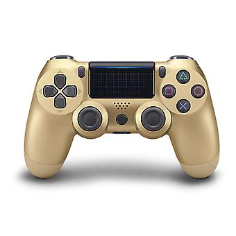 DoubleShock Bluetooth Wireless Gamepad for PS4, Gold