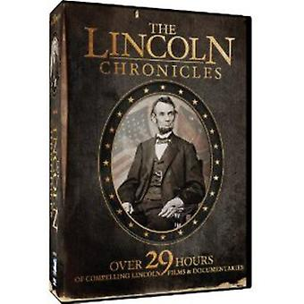 The Lincoln Chronicles [10 Discs] [DVD] USA import