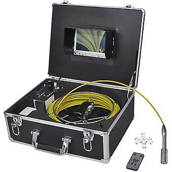 Caméra d'inspection de tuyauterie 30 m avec boîte de commutation DVR