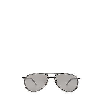 Saint Laurent SL 416 MASK zwarte unisex zonnebril