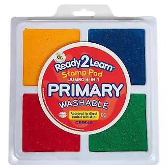 Jumbo 4-In-1 Washable Stamp Pad