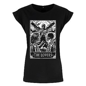 Deadly Tarot Femmes / Ladies The Lovers T-Shirt