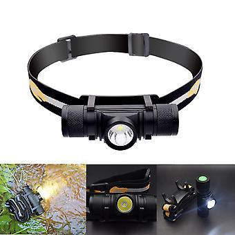 XANES D10 1000LM XPL LED 6 Modes Stepless Dimming USB Charging Interface IPX6 Waterproof Headlamp