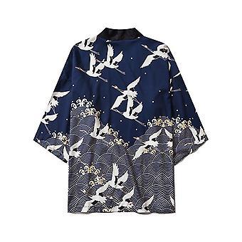 Japansk Kimono Cardigan Mænd