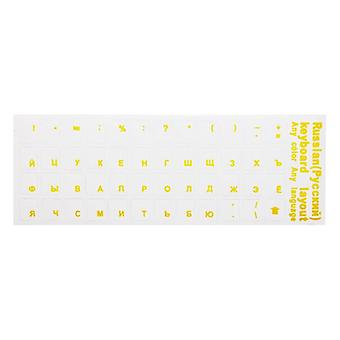 Transparent Keyboard Stickers, Letter Film With Light Color, Keyboard Laptop