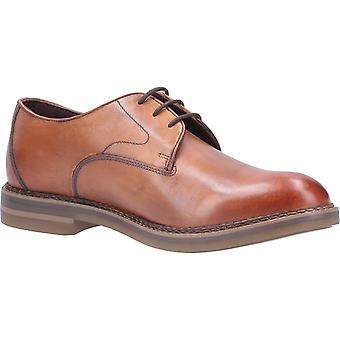 Base Wayne Burnished Mens Leather Formal Shoes Tan UK Size