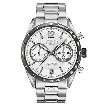 Roamer 510902 41 14 50 Superior Chrono II watch 42 mm