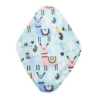 Women Menstrual Washable Sanitary Pads Bamboo Charcoal Cloth Pads