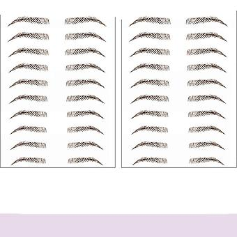 Hair-like Authentic Eyebrows Stickers