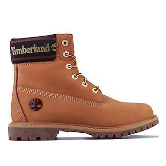 Women's Timberland 6 Inch Premium Waterproof Boots in Brown