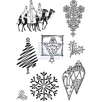 Sweet Dixie Clear Stamps - Christmas Selection 3
