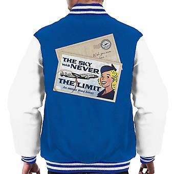 Pan Am The Sky Was Never The Limit Men's Varsity Jacket