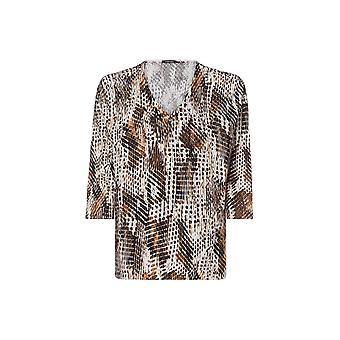 OLSEN Olsen Pecan Brown Sweater 11003389