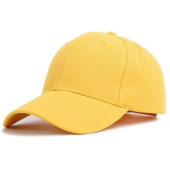 Plain Solid Color Baseball Cap