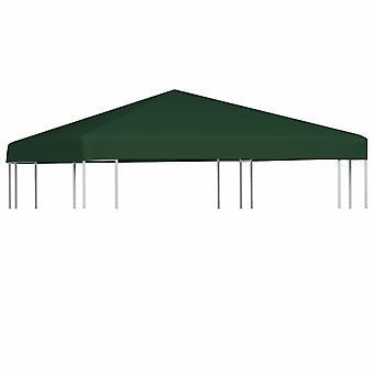 vidaXL pavilion roof 310 g/m2 3x3 m green