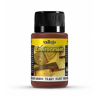 Vallejo Weathering Effects 40ml - Rust Texture
