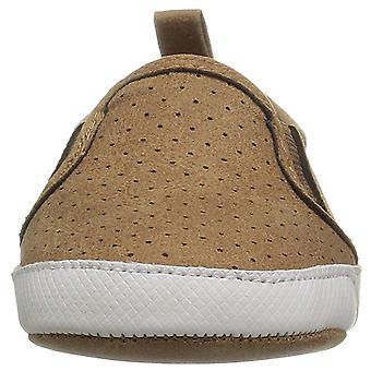 The Children's Place Boys' Slip On Sneaker Snow Boot, Roasted Nuts, 6-12MONTHS Child US Infant