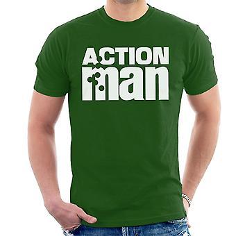 Action Man Logo Herr T-Shirt