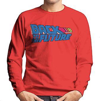 Back to the Future Stripped Arrow Heren Sweatshirt