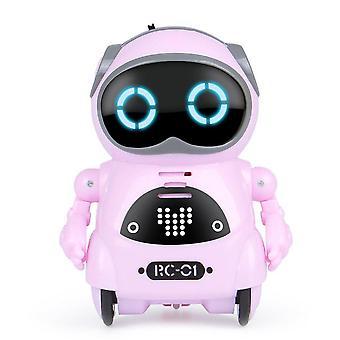 Elektrikli Çok Fonksiyonlu Ses Akıllı Mini Cep Robotu, Erken Eğitim,