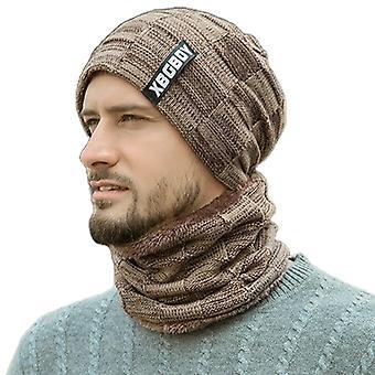 Unisex Winter Beanie Hat Sjaal Set