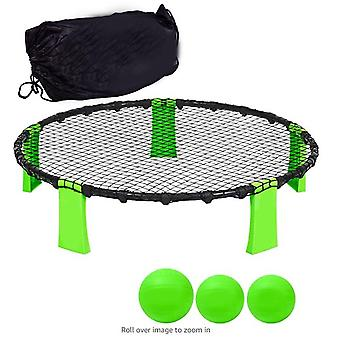 Game Set Beach Tailgating Roundnet Game Beach Volleyball