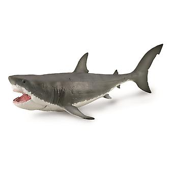 CollectA Megalodon with Movable Jaw (Deluxe 1: 40 Scale) Collectable Figure
