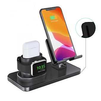 Til Apple Airpods Watch Iphone 3 In1 Qi Wireless Charger Charging Dock Station