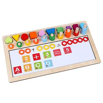Smart wooden toy