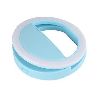 Hordozható univerzális led gyűrű flash szelfi fény