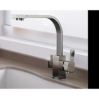 Faucets filter faucet drinking water single hole hot and cold pure sinks deck