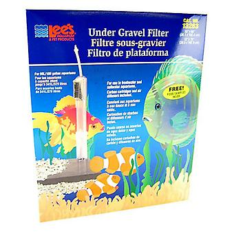 """Lees Original Undergravel Filter - 60"""" Long x 15"""" Wide or 72"""" Long x 12"""" Wide (90-100 Gallons)"""