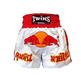 Twins Boxing Shorts Red Bull Large
