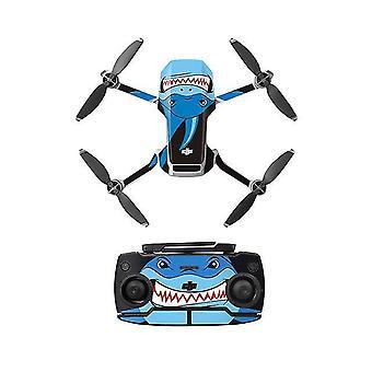 PVC Aufkleber mavic mini Drohne Abziehbilder Controller HautAufkleber Set für dji mavic mini Zubehör (B)