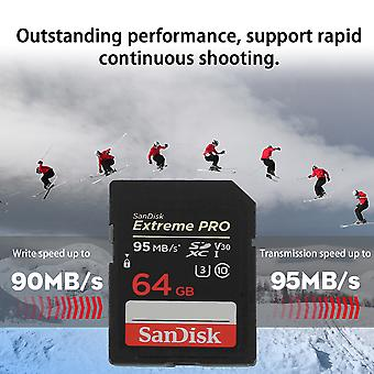 Sandisk Pro Class10 633x Camera Memery Card 32g 64g Tf Card Adapter 95mb/s