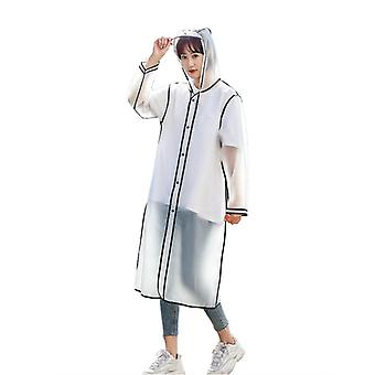 Transparent Windproof And Waterproof Raincoat