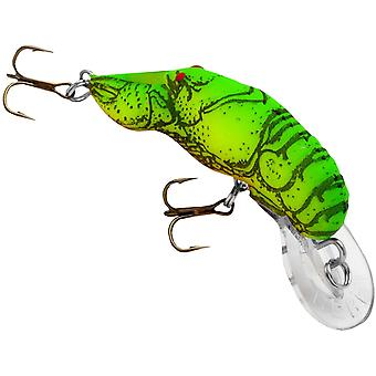 Rebell Teeny Wee languster 1/10 oz fiske Lure - Chartreuse/grön tillbaka