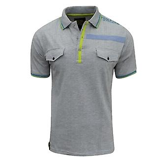 Henleys Men's Visit Plus Size Long Polo T Shirt Top