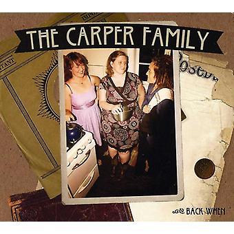 Carper Family - Back when [CD] USA import