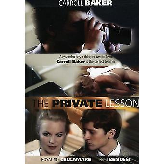 Private leksjon [DVD] USA importere
